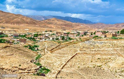 istock Panorama of Ghoufi Canyon in Algeria 1006201030