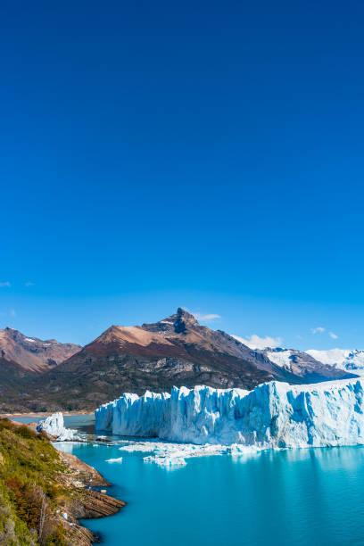 Panorama der Gletscher Perito Moreno in Patagonien – Foto