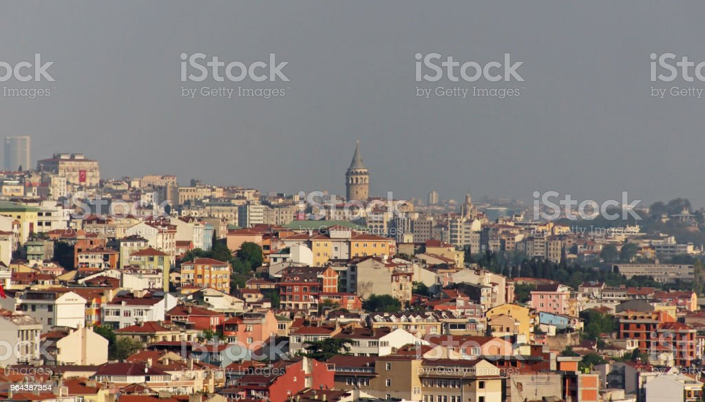 Panorama van Istanbul - Royalty-free Architectuur Stockfoto