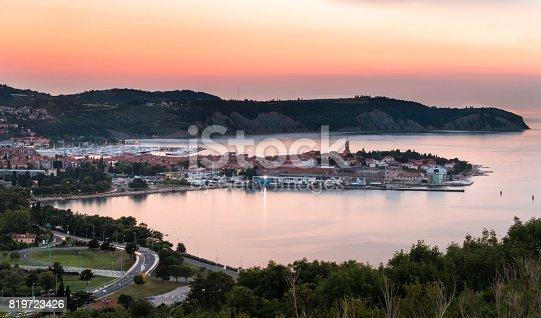 istock Panorama of Izola in Slovenia 819723426