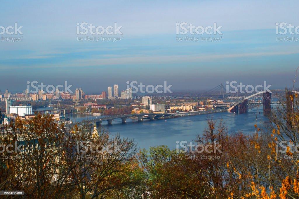 Panorama of Kiev, Ukraine