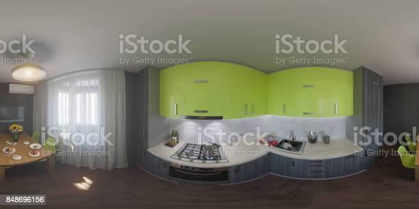 Panorama of kitchen design picture id848696156?b=1&k=6&m=848696156&s=612x612&h=uxy7qaw8s58qpz 7yahr6okjl2gjl62wyzekwhawlxm=