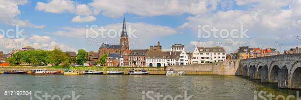 Panorama Of Maastricht Stock Photo - Download Image Now