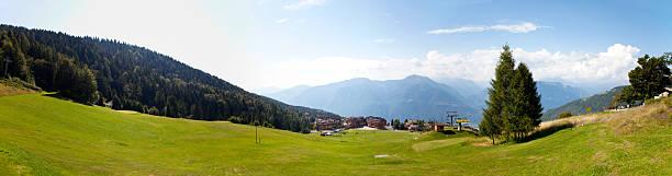 Panorama von Montecampione, Valcamonica, Lumbardy, Italien – Foto