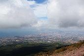 Panorama of Naples from Mount Vesuvius