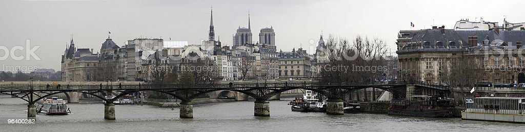 Panorama of Paris - Royalty-free Architectural Dome Stock Photo