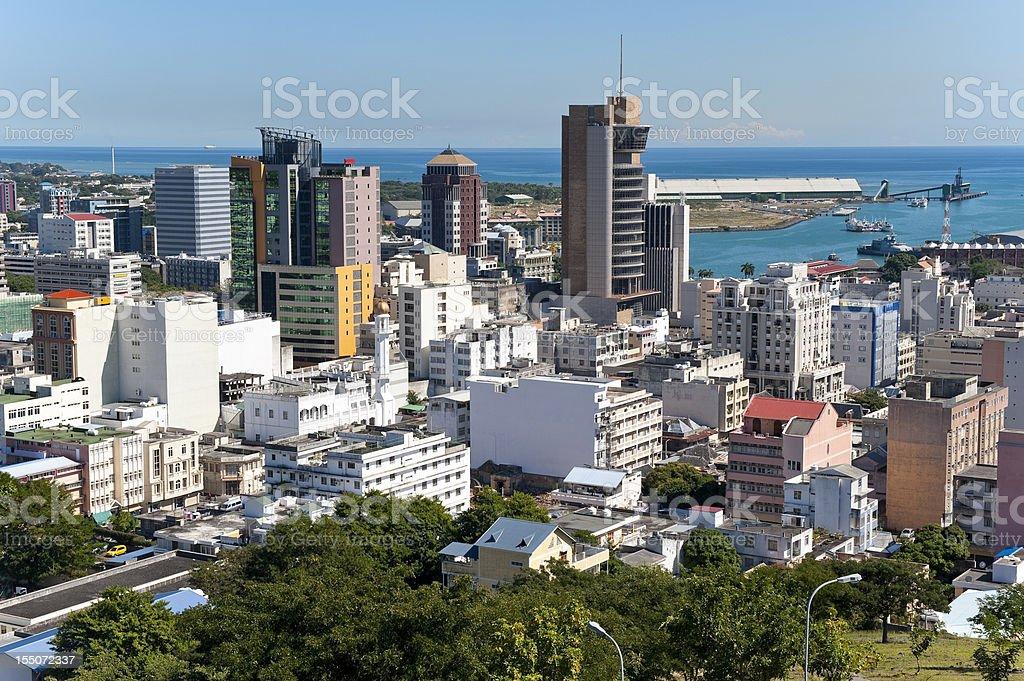 Panorama de portlouis ile maurice photos et plus d 39 images de afrique istock - Restaurant port louis ile maurice ...