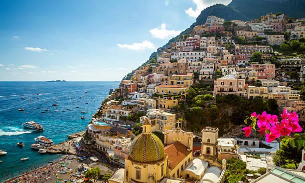 Panorama of Positano town, Amalfi Coast, Italy – Foto