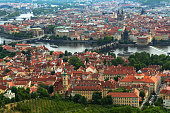 istock Panorama of Prague from Petrin Lookout Tower 478074534