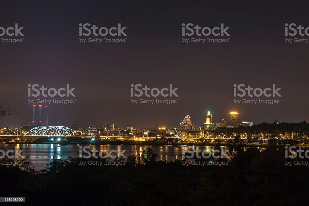 Panorama of Providence, USA stock photo