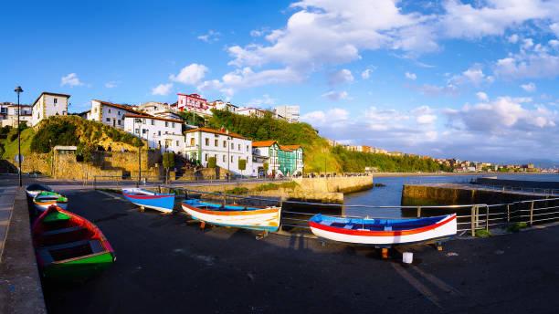 Panorama de Puerto Viejo - foto de stock