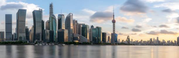 Panorama der Shanghai Urban Architecture – Foto