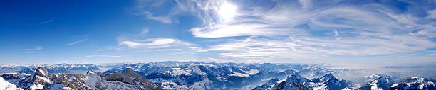 panorama der Schweizer Alpen (XXL – Foto