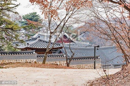 962814924 istock photo panorama of the city of Seoul in Korea 874431070