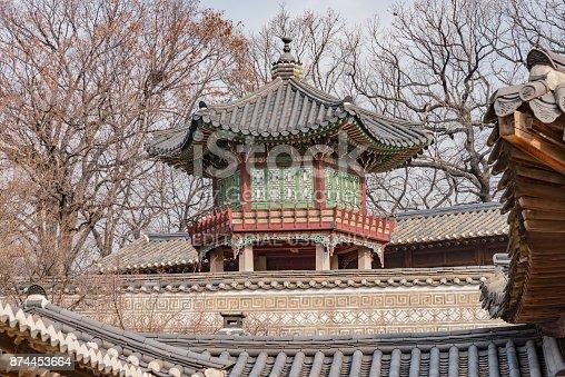 962814924 istock photo panorama of the city of Seoul in Korea 874453664