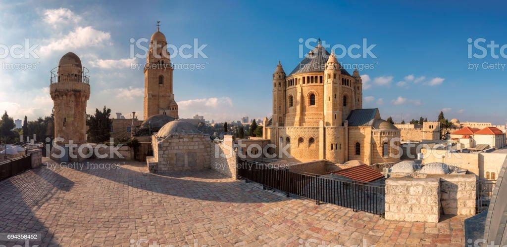 Panorama de la dormición abadía - foto de stock