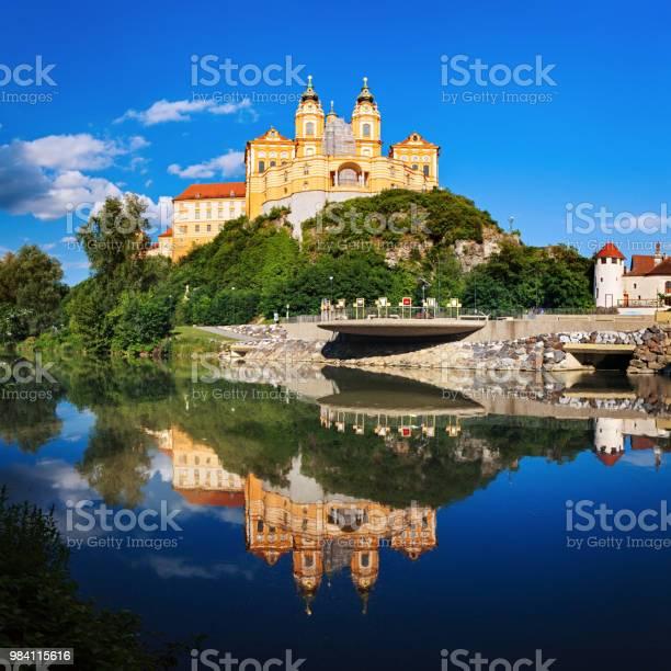 Panorama of the Melk Abbey, Austria