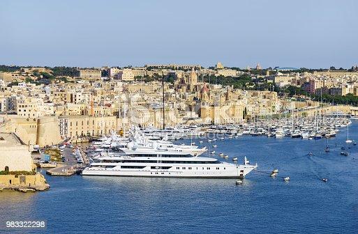 istock Panorama of the Maltese capital city Valletta. 983322298