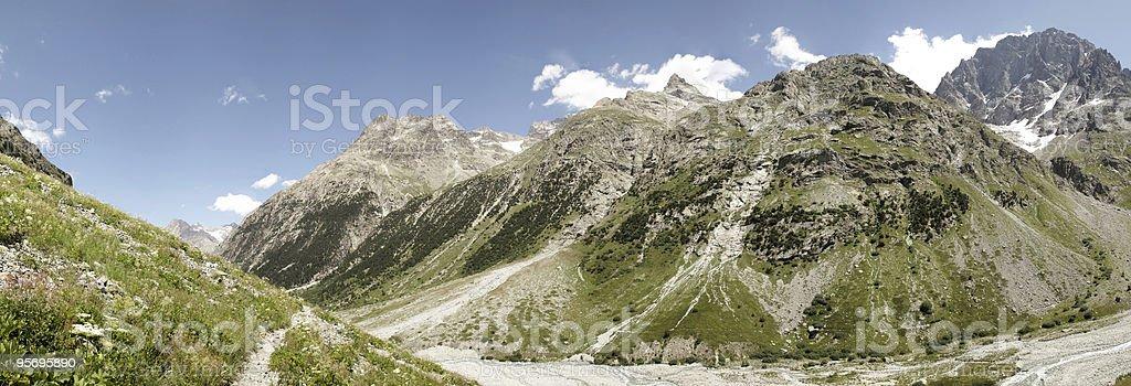 panorama des valley in Alpen/National Park Ecrins – Foto