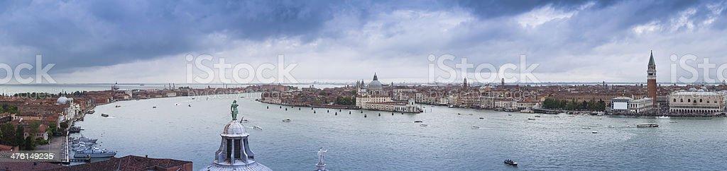 Panorama of Venice royalty-free stock photo