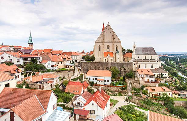 Panorama von Znojmo. Tschechische Republik. – Foto