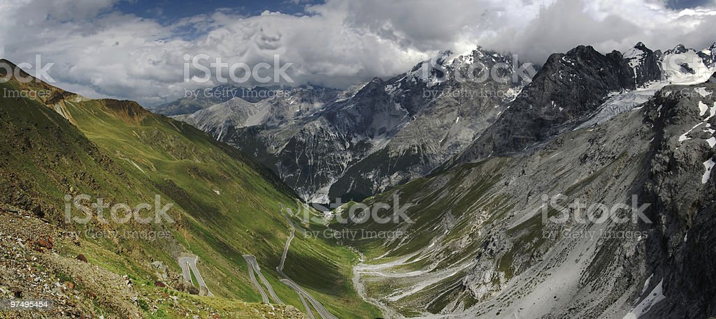 Panorama Ortler royalty-free stock photo