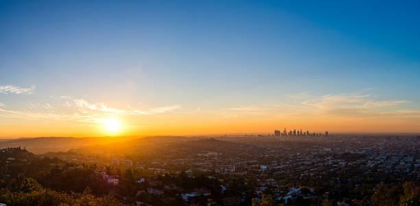 LA Panorama stock photo