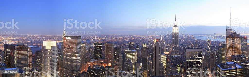 NYC Panorama royalty-free stock photo