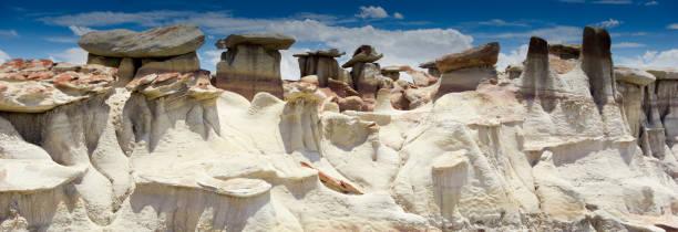 Panorama-Fels Wüstenlandschaft im Norden New Mexikos – Foto