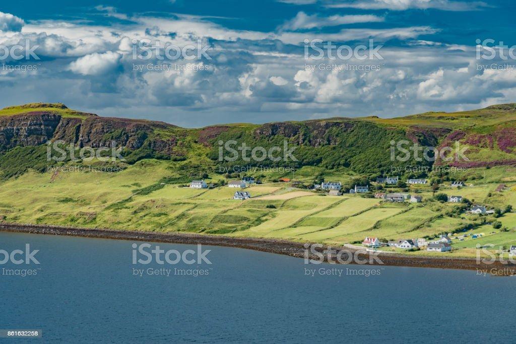 panorama Scotland stock photo
