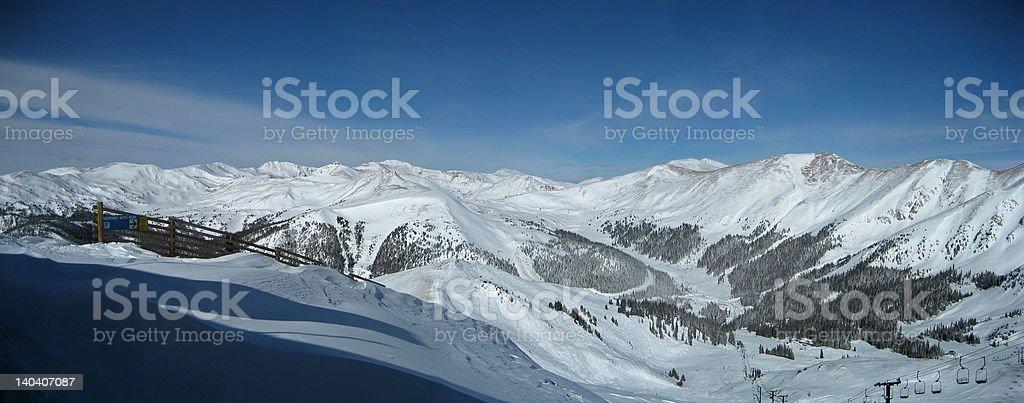 Panorama Ski Resort stock photo