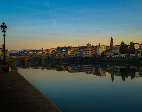 Panorama view Florence