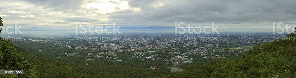panorama view in the province royalty-free stock photo