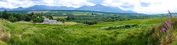 Panorama View of countryside of UK – Foto
