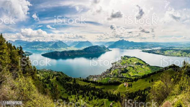 Panorama view of lake lucerne and weggis from the rigi switzerland picture id1133767525?b=1&k=6&m=1133767525&s=612x612&h=xyu lyajhpcxge sopjyea7jrpifnvwhyeffkydvsno=