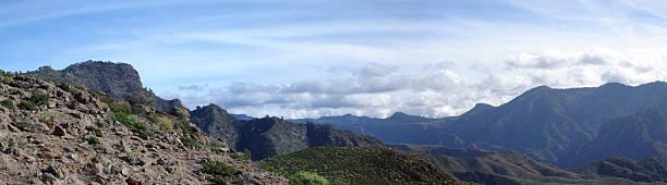 Panoramablick auf der Insel Gran Canaria – Foto