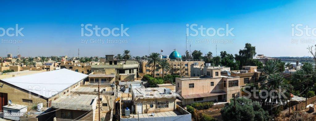 Vista panorámica a Bagdad, Irak - foto de stock