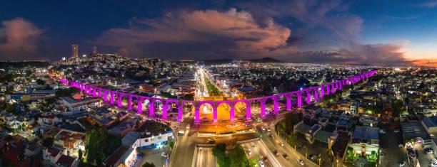 Queretaro Skyline Panorama Luftbild – Foto