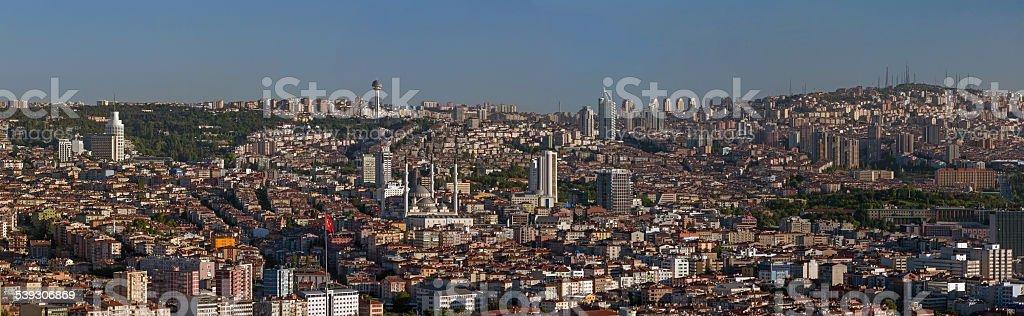 Panoramablick auf Ankara Stadt – Foto