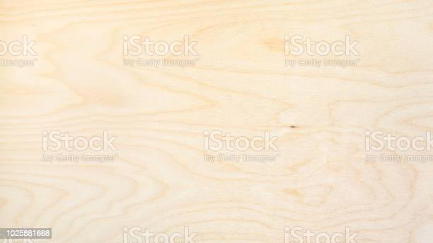 Photo of panoramic background from natural birch board