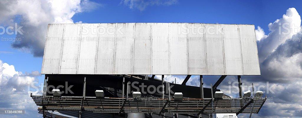 panoramic billboard royalty-free stock photo