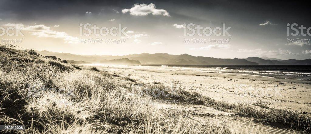 Panoramic Coast Стоковые фото Стоковая фотография