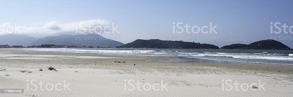 Panoramic Desert beach royalty-free stock photo