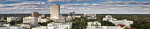 istock Panoramic Drone Shot of Florida State Capitol Complex in Tallahassee 1233540746