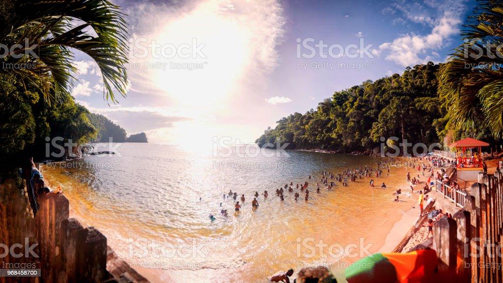 Macqueripe Beach, Trinidad and Tobago, Tropical island paradise...