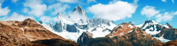 Panorama Berg Fitz Roy, El Chalten, Patagonien, Argentinien – Foto