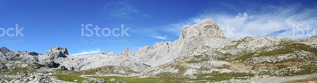 Panoramic FuenteDe royalty-free stock photo