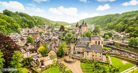 istock Panoramic landscape of Durbuy, Belgium. Smallest city in the world. 1151932596