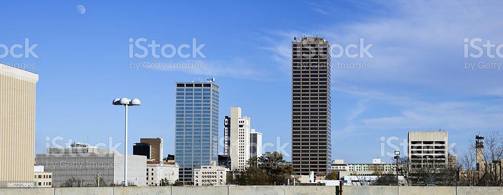 Panoramica di Little Rock, Arkansas foto stock royalty-free