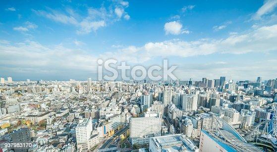 931105838 istock photo panoramic modern city skyline aerial view of bunkyo, tokyo, Japan 937983170